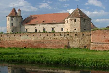 Fagaras Citadel by Nicolai Bangsgaard