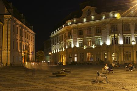 Sibiu Main Square by Thomas Timlen