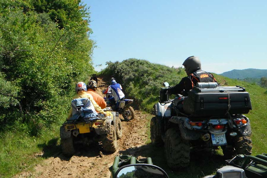 ATV Tours in Brasov by Moto Land